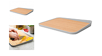 Доска кухонная LEO ORIGINAL BergHOFF 3950088 , с угловым бортиком, 41 х 30,5 х 4 см