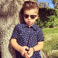 Мужские очки Ray-Ban в фотосессии четырехлетнего Райкера Виксома