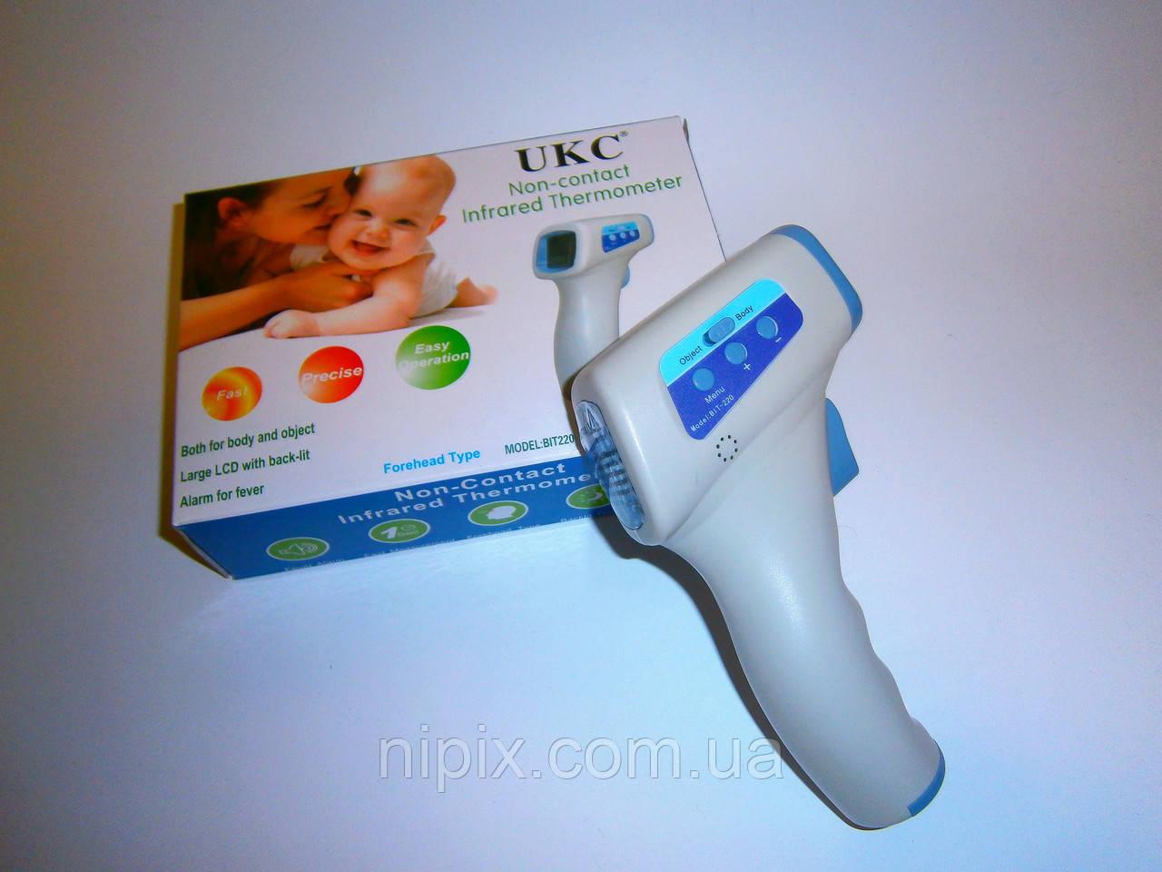 Бесконтактный инфракрасный термометр (пирометр) UKC BIT-220