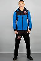 Мужской модный спортивный костюм Гранж, цвет электрик / размерный ряд 46,48,50,52,54