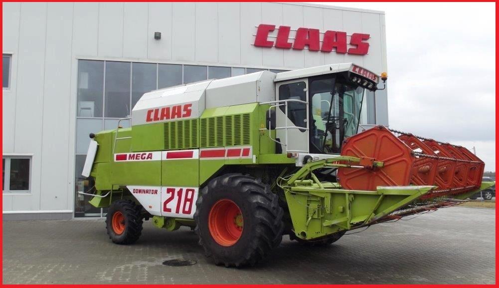 Claas Dominator 218 Mega
