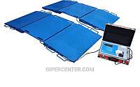 Автомобильные подкладные весы ВИС 20ВП4-2 (max. нагрузка на ось 20 тонн)