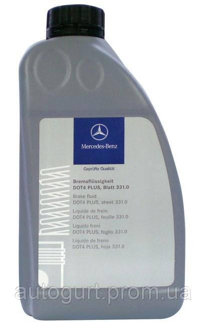 Mercedes Жидкость тормозная DOT 4 MB 331.0 (1 л.)