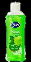 Жидкое мыло Dello Green Apple 1 л.