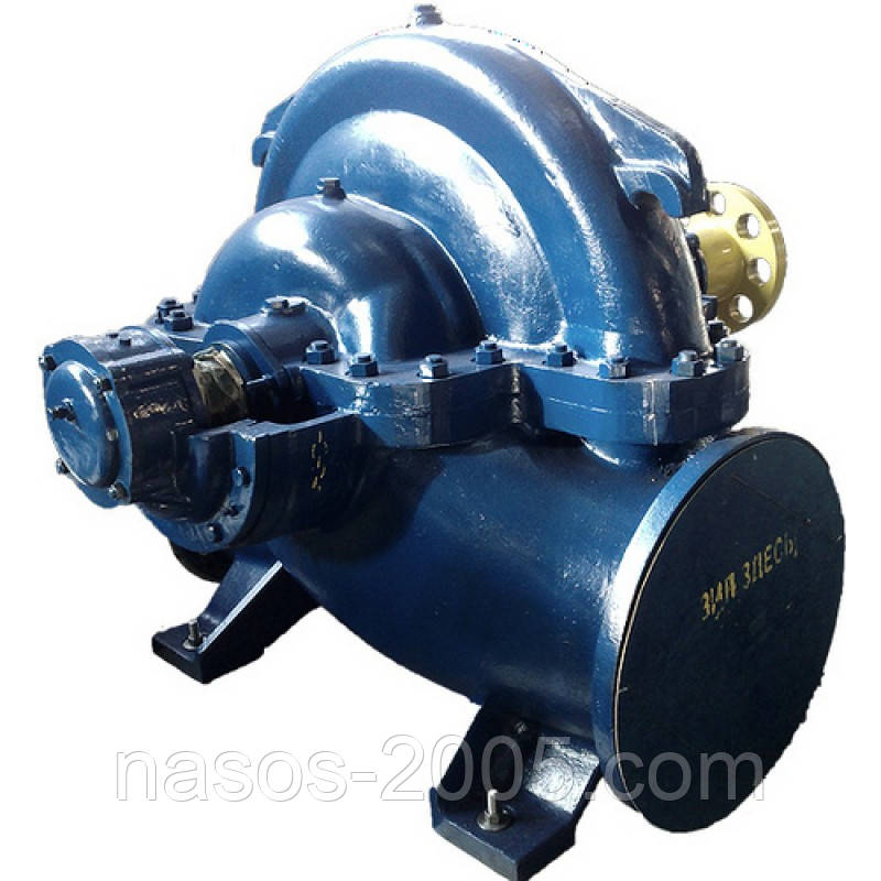 Насос 1Д 1250-125а динамический, двухстороннего входа, центробежный, горизонтальный, одноступенчатый для воды.