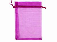 Мешочек упаковка для подарка малиновый