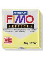 Брусок Fimo Двойной эфект Effect GEMSTONE цитрин 106 - 56гр., фото 1