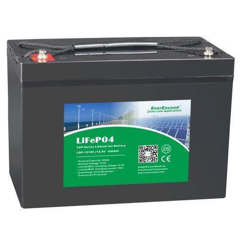 Литий железо фосфатный аккумулятор EverExceed LDP 12-100 (12В 100Ач)