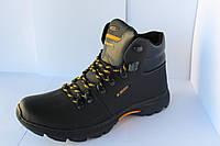Мужские зимние ботинки ECCO на шнуровке