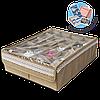 Коробочка для трусиков с крышкой 20 ячеек ORGANIZE (бежевый)