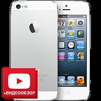 """Китайский iPhone 5S, дисплей 4"""", Wi-Fi, 2 SIM, ТВ, Java. Белый. Высококачественная заводская сборка, фото 1"""