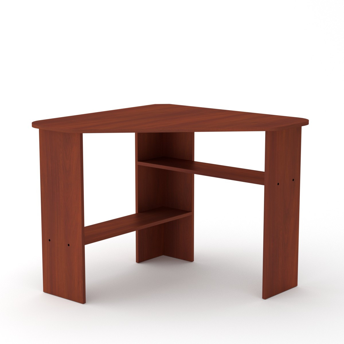Стол письменный ученик-2 яблоня Компанит (90х90х75 см)