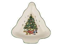 """Блюдо """"Новогодняя елка"""" 910-132. Новогодняя посуда"""