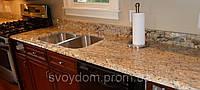 Изготовление столешниц из мрамора, гранита, песчаника, кварцевого агломерата, фото 1