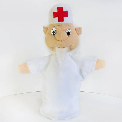 Рукавичка Айболит игрушка на руку (кукольный театр)