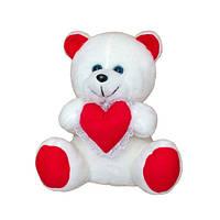Медвежонок с сердцем мягкая игрушка