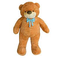 Плюшевая Мягкая игрушка Медведь Бо 137 см коричневый