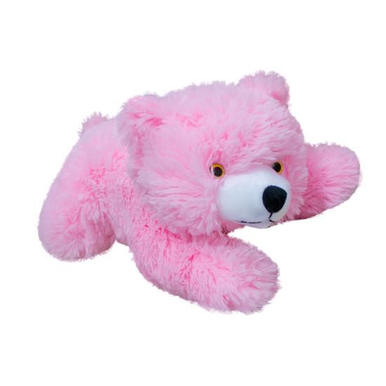 Мишка Мягкая Игрушка медведь розовый 33 см