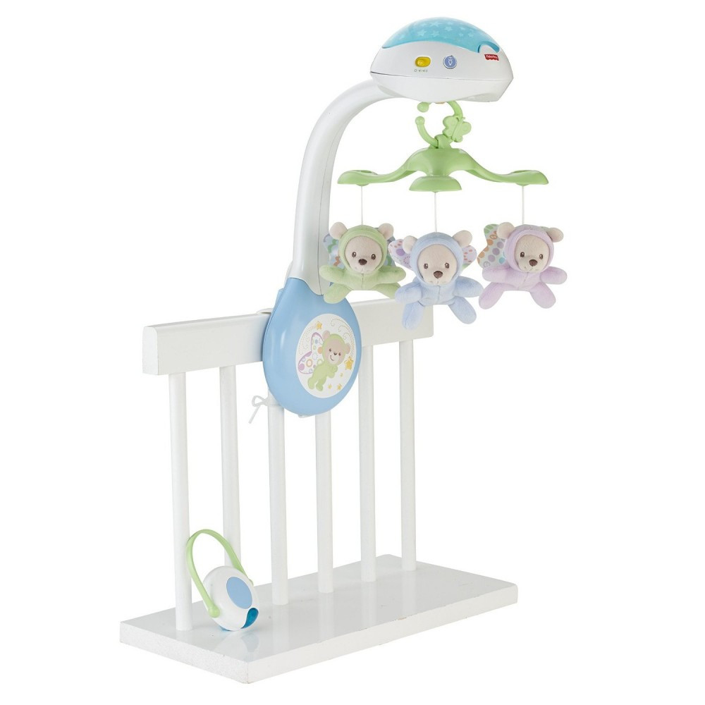Мобиль проектор 3 в 1 Сон бабочки Fisher Price CDN41