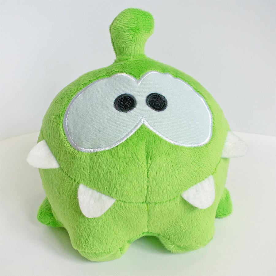 Ам Ням Мягкая игрушка Om Nom (Ам Ням) довольный 17 см