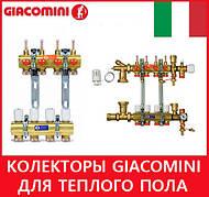 Колекторы Giacomini для теплого пола