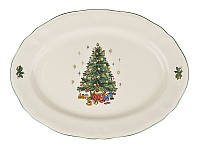 """Блюдо """"Новогодняя елка"""" 910-135. Новогодняя посуда"""