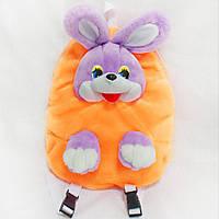 Рюкзак детский Заяц оранжевый
