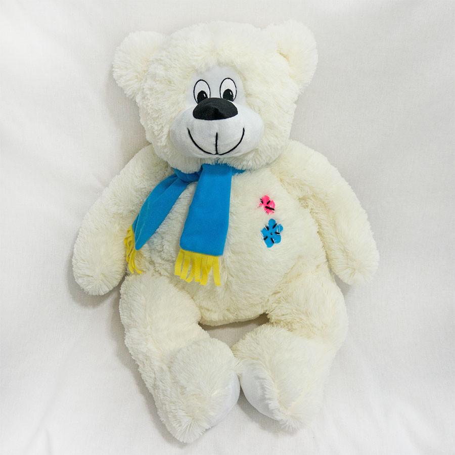 Плюшевая игрушка Медведь Косолапый молочный мягкая игрушка 67 см