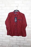 Рубашка для мальчиков с длинным рукавом  на 7-12 лет