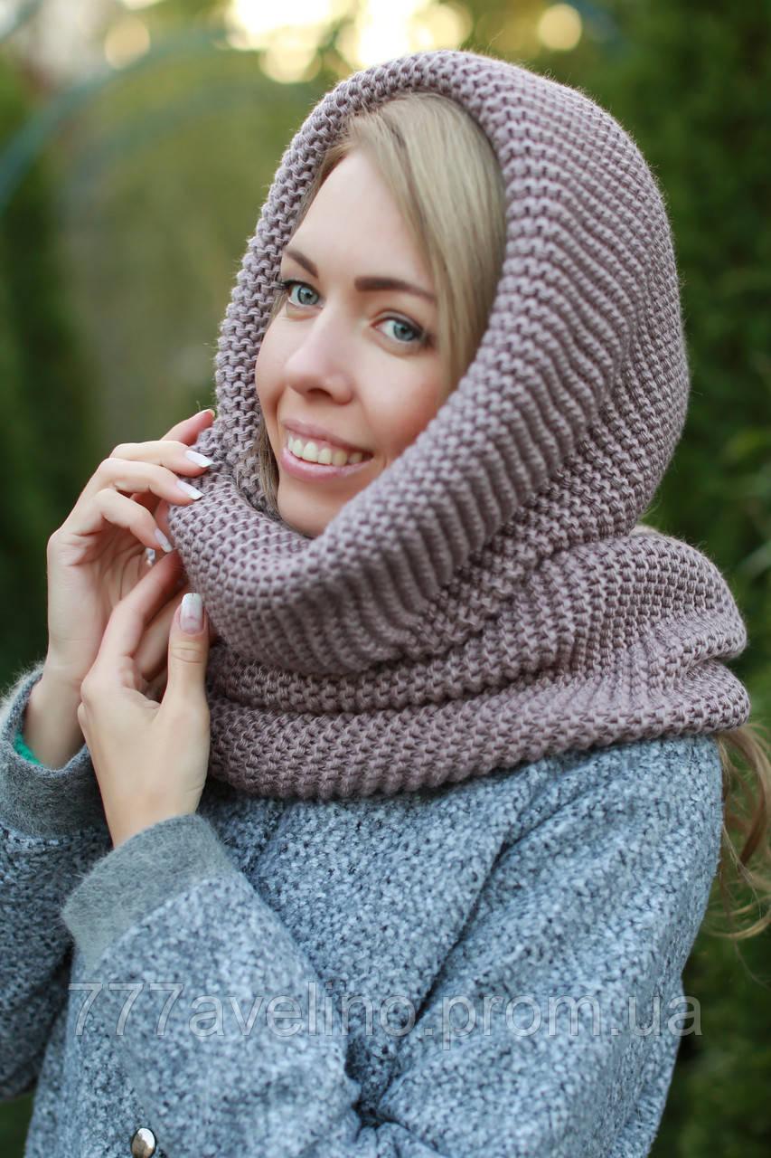 Шарф хомут снуд шапка шарф