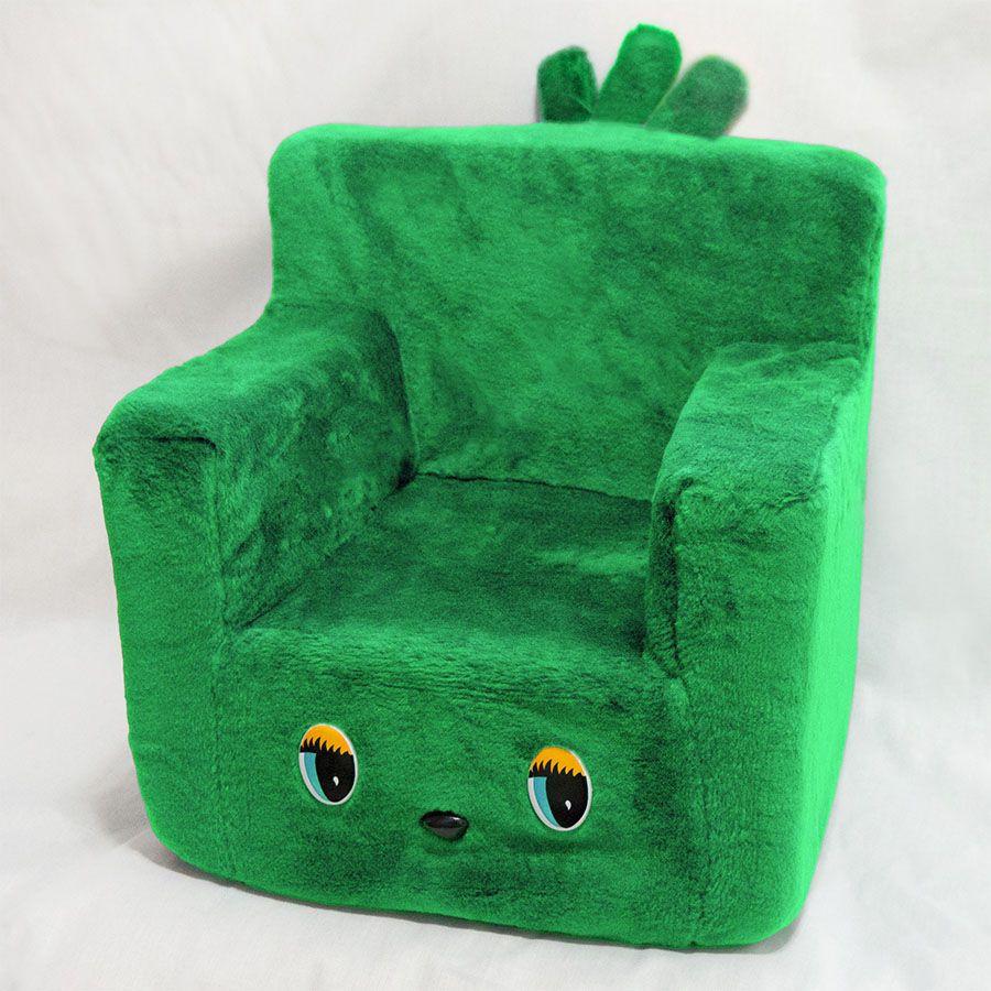 Детское кресло зеленый цвет