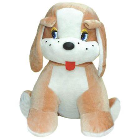 Игрушка Собака сидячая Друг большая собака мягкая игрушка 75 см