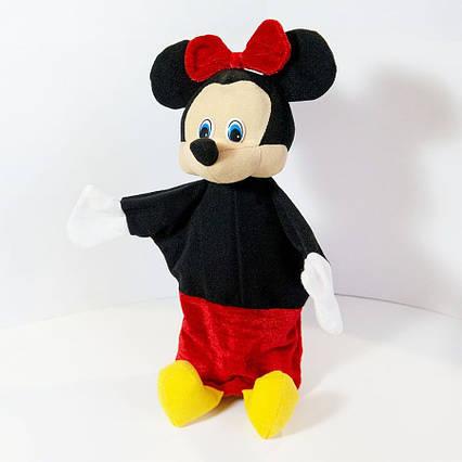 Рукавичка игрушка (кукольный театр) Микки Маус (девочка) 36 см