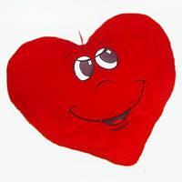 Подушка сердце мальчик мягкая игрушка