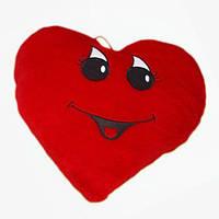 Подушка сердце девочка мягкая игрушка