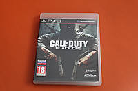 Диск лицензия PS3 Call of Duty Black Ops Rus