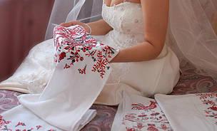 Свадебный рушник своими руками
