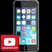 """Точная копия iPhone 5 - МЕТАЛЛИЧЕСКИЙ КОРПУС! 4GB, Wi-Fi, 1 SIM, шустрый емкостной дисплей 4""""."""