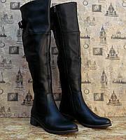 Сапоги женские Leal 126 модель стильные с натуральной кожи