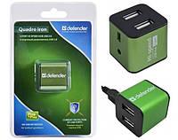 USB-хаб DEFENDER QUADRO IRON USB 2.0 (83506)