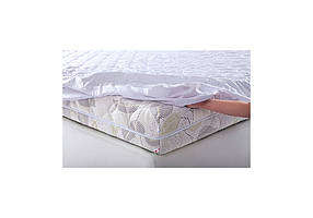 Наматрасник натяжной бязь белая 80х190 (Матролюкс-ТМ)