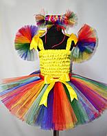 Детский костюм конфетки радуги