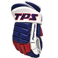 Перчатки хоккейные TPS R10 синие
