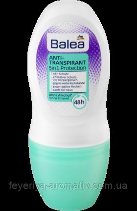 Антипреспирант роликовый Balea Anti-Transpirant 5in1 Protection 48hr 50 ml (Германия)
