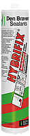 Клей герметик MS-Polymer Hybrifix 290ml Den Braven