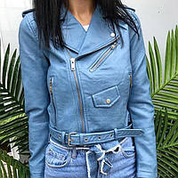 Куртка косуха из эко-кожи р.S-M