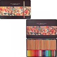 Цветные карандаши Marco Fine Art-36TN 36 цветов в металлическом пенале кедр