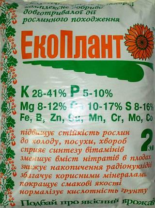 Удобрение органо-минеральное ЭкоПлант (зола подсолнечника), 2 кг — эффективное экологически чистое удобрение, фото 2