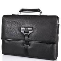Портфель H.T Кожаный мужской портфель с отделением для ноутбука H.T(ЭЙЧ ТИ) TU7891-1-black