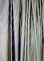 Портьерная ткань Волна Хаки
